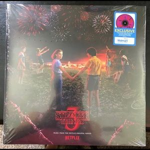 Other - Stranger Things 3 (Purple Splatter) Vinyl Record